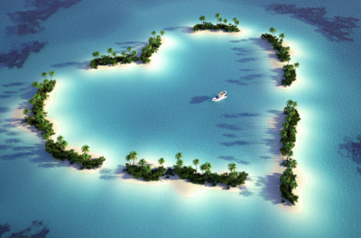 Island: Heart Shaped
