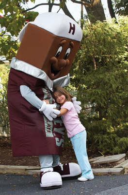Hershey Park Candybar Hug