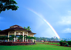 Rainbow over Hilo, Hawaii (Photo: Hawaii Convention and Visitors Bureau)