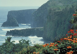 View from Maui's cliffs (Photo: Hawaii Visitors and Convention Bureau)