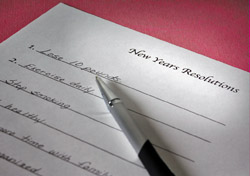 New Year's resolutions (Photo: Index Open)