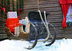 Sled with Christmas presents (Photo: Index Open)