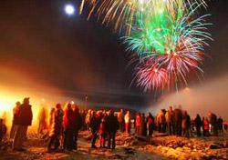 Reykjavik winter fireworks (Photo: Visit Reykjavik)