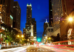 Chicago's Magnificent Mile (Photo: iStockPhoto/Jill Battaglia)