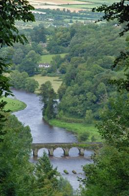 Ireland-View of a Distant Bridge