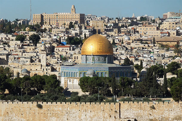 Dome of the Rock, Jerusalem (Photo: Rick Steves)