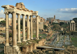 Roman Forum (Photo: iStockPhoto.com/Hedda Gjerpen)