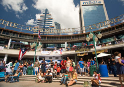 The Jacksonville Landing (Photo: Visit Jacksonville)