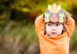 Thanksgiving: Boy with a Turkey Hat (Photo: iStockphoto/Courtney Weittenhiller)