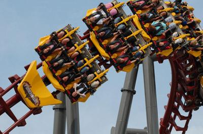 Kings Island Roller Coaster