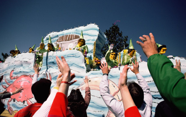 New Orleans: Mardi Gras Float (Photo: Thinkstock/Jupiterimages)