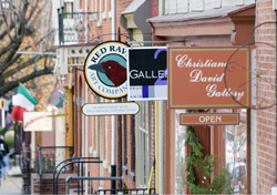Pennsylvania: Gallery Row in Lancaster (Photo: www.discoverlancasterpa.com)