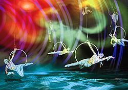 Cirque du Soleil's O at Bellagio, Las Vegas (Photo: Cirque du Soleil)