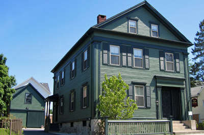 Massachussets- Fall River: Lizzie Borden bed and breakfast