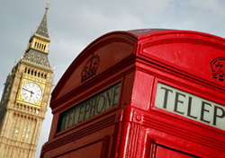London Telephone Booth in front of Big Ben (Photo: iStockPhoto/Jeremy Edwards)