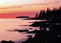 Sunset near Bar Harbor, Maine (Photo: Index Open)