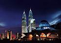 Kuala Lumpur at night (Photo: Tourism Malaysia)