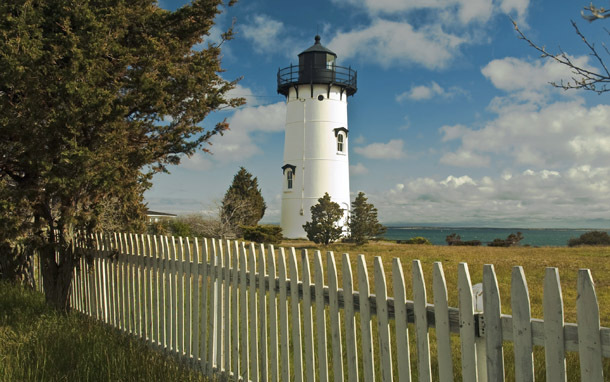 Martha's Vineyard: Telegraph Hill Lighthouse (Photo: Thinkstock/iStockphoto)