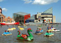 Baltimore Inner Harbor Paddleboats (Photo: Baltimore Area Convention and Visitors Association)