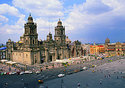 Cathedral in Zocalo Square, Mexico City (Photo: Adalberto Rios Szalay/Sexto Sol)
