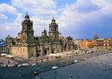 Cathedral in Zocalo Square, Mexico City (Photo: Adalberto Rios Szalay/Sexto Sol)