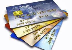 Money: Stacked Credit Cards (Photo: Thinkstock/iStockphoto)