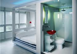 Qbic Hotel room (Photo: Qbic Hotels)