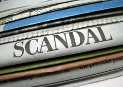Newspaper Scandal Headline (Photo: iStockPhoto/Lilli Day)