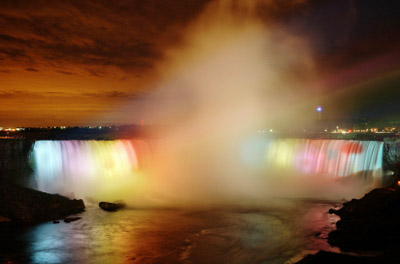 Canada: Niagara Falls in Color