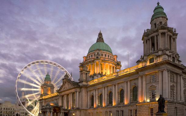 Northern Ireland: Belfast - Belfast Eye (Photo: Thinkstock/iStockphoto)