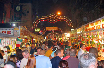 Feast of San Gennaro, New York City