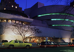 Outside the Guggenheim Museum, New York City (Photo: Index Open)