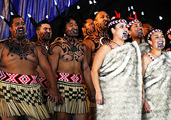 Maori performers at New Zealand's Te Matatini festival (Photo: Molly Feltner)