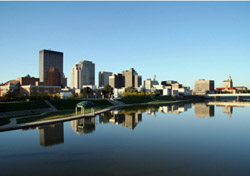 Ohio: Dayton Skyline (Photo: iStockphoto/Stan Rohrer)