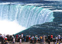 Horseshoe Falls from Niagara Falls, Ontario (Photo: The Niagara Parks Commission)