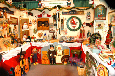 Booth at Americas Largest Christmas Bazaar