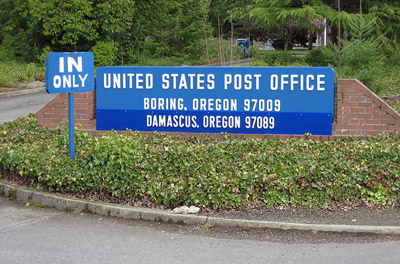 Boring post office, Oregon