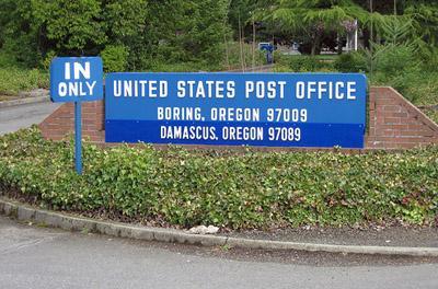 Boring post office, Oregon