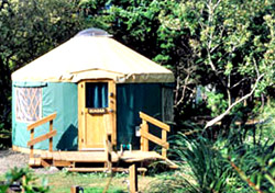 Oregon Parks Beachside Yurts (Photo: Oregon Parks and Recreation Department)