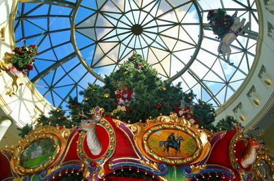 Christmas tree, King of Prussia Mall
