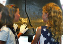 Descendents of Declaration of Independence signers with Liberty Bell (Photo: GPTMC)