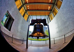Liberty Bell/Independence Hall, PhiladelphiaPhiladelphia's Independence National Historical Park holds the famous Liberty Bell and Independence Hall, where the Declaration of Independence and U.S. Constitution were signed. Both sites are free to visit, although you will need a timed entrance ticket for Independence Hall if you visit from March through December. Walk-up tickets are provided daily on a first-come, first-served basis, or you can reserve tickets up to a year in advance for a $1.50 per ticket fee. Be sure to wear comfortable walking shoes: The park spans a 20-block radius downtown, covering more than 55 acres. There's a variety of free guided tours available as well, including Franklin's Philadelphia, Slavery and the Underground Railroad, and Twilight Tours, among other options.(Photo: J. Smith/Greater Philadelphia Tourism Marketing Corporation)