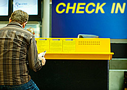 Passenger Waiting to Check In (Photo: iStockphoto/Naphtalina)