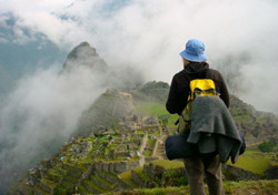 Machu Picchu, Peru - Women viewing ruins (Photo: iStockPhoto/ Christian Peeters)