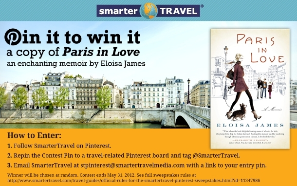 Pinterest: Paris in Love Contest