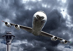 Air: Plane Flying in Foul Weather (Photo: iStockphoto/byllwill)
