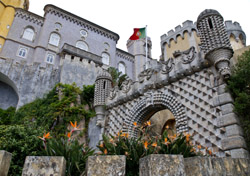 Portugal: Pena National Palace in Sintra (Photo: Thinkstock/iStockphoto)