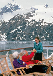 Princess - Dining on Deck on an Alaska Cruise (Photo: Princess)