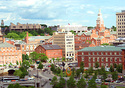 Providence downcity (Photo: Providence Warwick Convention & Visitors Bureau)