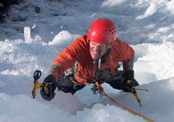 Ice climbing with REI Adventures (Photo: REI Adventures)